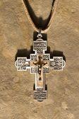 Cross locket — Stock Photo