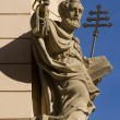 St. Peter from prague facade  — Stock Photo