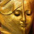Stock Photo: Gold leaf - mask from venice