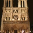 Paris - Notre-Dame cathedral in night — Stock Photo #18987827