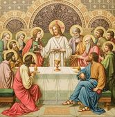 Last Supper of Christ — Stockfoto