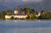Cloister by gmunden - austria - traunsee — Stock Photo