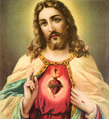 Heart of Jesus Christ — Stock Photo