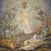 Rome - mosaic from st. Peters basilica — Stock Photo