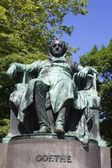 Goethe - scriber statue from vienna — Stock Photo