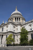 London - st. Pauls cathedral and park — Stock Photo