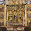 KOSICE - JANUARY 3: Main carved wings altar of Saint Elizabeth gothic cathedral from years 1474-1477 on January 3, 2013 in Kosice, Slovakia. — Stock Photo #19022371