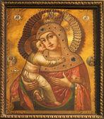кошице - 3 января: мать икона божией от 18. процентов. в святой элизабет готический собор на 3 января 2013 года в кошице, словакия. — Стоковое фото