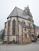 Kosice - saint michaels kapel in de winter. — Stockfoto