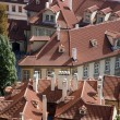 Prague - roofs of Little quarter - Stock Photo