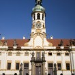 Prague - Loreto baroque church - Stock Photo