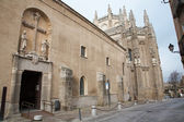TOLEDO - MARCH 8: Monasterio San Juan de los Reyes or Monastery of Saint John of the Kings on March 8, 2013 in Toledo, Spain. — Stockfoto