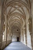 TOLEDO - MARCH 8: Gothic atrium of Monasterio San Juan de los Reyes or Monastery of Saint John of the Kings on March 3, 2013 in Toledo, Spain. — Stock Photo