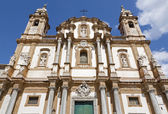 Iglesia barroca de palermo - san doménico - saint dominic — Foto de Stock