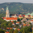 Stock Photo: Vienn- Monastery in Klosterneuburg in summer country on July 27, 2013 Vienna.