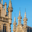 Leuven - Gothic town hall in morning light — Stock Photo
