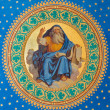 Stock Photo: VIENN- JULY 27: Fresco of one of four big prophets from year 1855 by Joseph Schonmon ceiling of side nave in Altlerchenfelder church on July 27, 2013 Vienna.