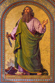 VIENNA - JULY 27: Fresco of Abraham by Joseph Schonman from year 1857 in Altlerchenfelder church on July 27, 2013 Vienna. — Stock Photo
