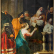 ANTWERP, BELGIUM - SEPTEMBER 5: The Presentation in the Temple by Cornelius de Vos in St. Pauls church (Paulskerk) on September 5, 2013 in Antwerp, Belgium — Stock Photo #36782315