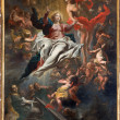 ������, ������: ANTWERP BELGIUM SEPTEMBER 5: Assumption of Mary into Heaven by Cornelis Schut 1597 1605 in St Charles Borromeo church on September 5 2013 in Antwerp Belgium