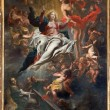 Постер, плакат: ANTWERP BELGIUM SEPTEMBER 5: Assumption of Mary into Heaven by Cornelis Schut 1597 1605 in St Charles Borromeo church on September 5 2013 in Antwerp Belgium