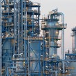 Oil refinery Schwechat in Austria — Stock Photo