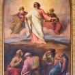 VIENNA - JULY 27: Fresco of Transfiguration of Jesus on the mount Tabor by Franz Josef Dobiaschofsky from year 1860 in Altlerchenfelder church on July 27, 2013 Vienna. — Stock Photo #36796447