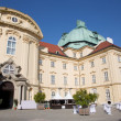 Stock Photo: Vienn- Monastery in Klosterneuburg from west on July 27, 2013 Vienna.