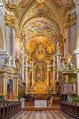 VIENNA - JULY 27: Baroque altar of monastery church in Klosterneuburg build by Sebastian Stumpfegger and designed by Matthias Steinl from years 1725 - 1728 on July 27, 2013 Vienna. — ストック写真