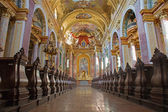 Vienna - Jesuits church - baroque — Stock Photo