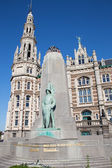 Antwerp - memorial world war victims — Stock Photo