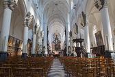 ANTWERP, BELGIUM - SEPTEMBER 5: Nave of St. Pauls church (Paulskerk) on September 5, 2013 in Antwerp, Belgium — Stockfoto
