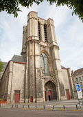 Brussels - tower of Saint Michael s Cathedral — Stock fotografie