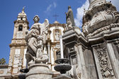 Palermo - san domenico - saint dominic kirche und barocke — Stockfoto