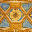 Stock Photo: ROME - MARCH 23: Detail of ceiling in church SantMaridi Pace on March 22, 2012 in Rome.