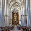 Stock Photo: VIENN- JULY 3: Nave of Augustinerkirche or Augustinus chuch on July 3, 2013 Vienna.