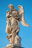 Rome - Ponte Sant'Angelo - Angels bridge - Angel with the thorn crown — Foto Stock
