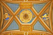 ROME - MARCH 23: Detail of ceiling in church Santa Maria di Pace on March 22, 2012 in Rome. — Stock Photo