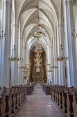 VIENNA - JULY 3: Nave of Augustinerkirche or Augustinus chuch on July 3, 2013 Vienna. — Stock Photo