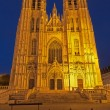 ������, ������: Brussels Saint Michael and Saint Gudula gothic cathedral wes