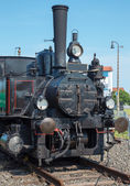Old steam locomotive — Stock Photo