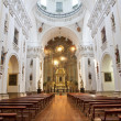 Stock Photo: MADRID - MARCH 10: Nave of church SIsidoro on March 10, 2013 in Madrid.