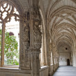 Stock Photo: TOLEDO - MARCH 8: Gothic atrium of Monasterio SJude los Reyes or Monastery of Saint John of Kings on March 8, 2013 in Toledo, Spain.
