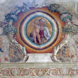 Stock Photo: VERON- JANUARY 27: Fresco from arch of Medici chapel in SBernardino church on January 27, 2013 in Verona, Italy.
