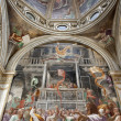 Stock Photo: Mil- cupoland side fresco of CappellFop- SMark church by Paolo Lomazzo