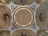 Bergamo - 26 de janeiro: cúpula de dom em 26 de janeiro de 2013, em bergamo, itália. — Fotografia Stock