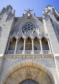 Barcelona - church Sagrat Cor de Jesus on Tibidabo — Stock Photo