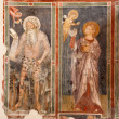 Stock Photo: VERONA, ITALY - JANUARY 28, 2013: Fresco of Prophet of church SFermo Maggiore from 13. cent.