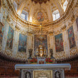 ������, ������: BERGAMO ITALY JANUARY 26 2013: Presbytery of Dom with the frescoes from 18 cent by more painters