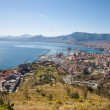 Stock Photo: Palermo - outlook over city, coast and harbor form Mount Pelegrino